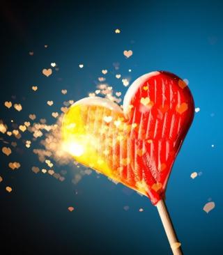 Love Candy - Obrázkek zdarma pro Nokia Asha 300