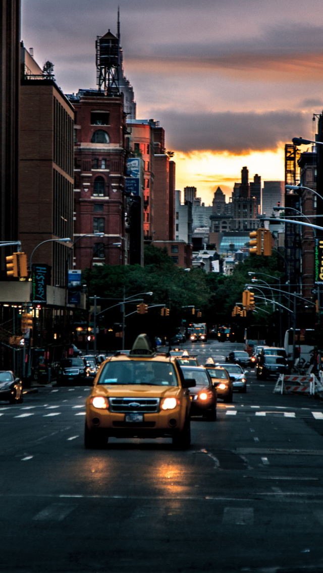 New York Street Iphone Wallpaper New York City Streets at