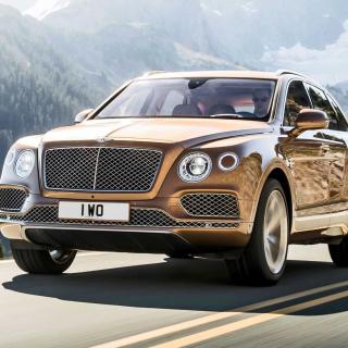Bentley Bentayga SUV - Obrázkek zdarma pro iPad Air