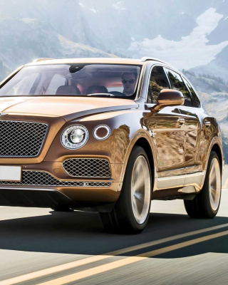 Bentley Bentayga SUV Picture for LG 230 Simple Flip