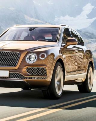 Bentley Bentayga SUV - Obrázkek zdarma pro iPhone 4