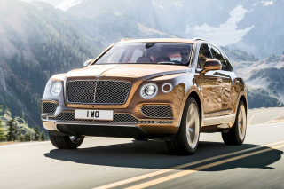 Bentley Bentayga SUV Background for Nokia Asha 200