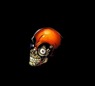 Skull Tech - Obrázkek zdarma pro iPad Air