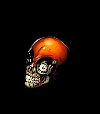 Skull Tech - Obrázkek zdarma pro Nokia C6