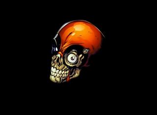Skull Tech - Obrázkek zdarma pro Android 1080x960