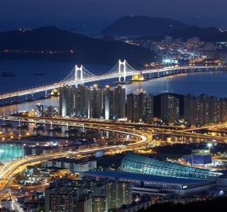 Beautiful Night Cityscape - Obrázkek zdarma pro 320x320