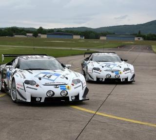 Lexus RC F GT3 Race Car - Obrázkek zdarma pro 128x128