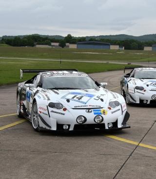 Lexus RC F GT3 Race Car - Obrázkek zdarma pro iPhone 6