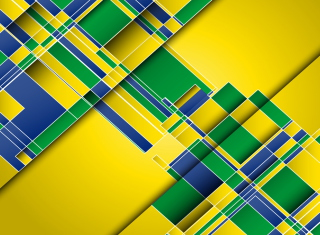 Brazil Colors Background for Android, iPhone and iPad