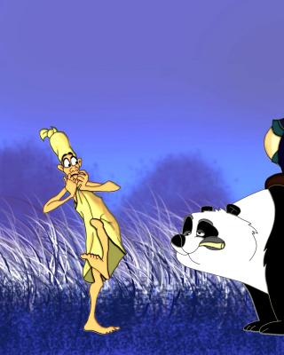 Mulan Cartoon - Obrázkek zdarma pro 128x160