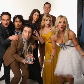 The Big Bang Theory - Obrázkek zdarma pro iPad mini 2