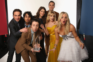 The Big Bang Theory Background for Android, iPhone and iPad