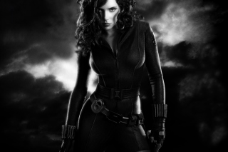 Black Widow Background for Android, iPhone and iPad