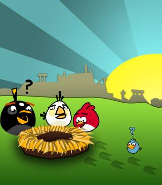 Angry Birds Game - Obrázkek zdarma pro 176x220
