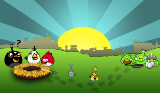 Angry Birds Game - Obrázkek zdarma pro Android 1280x960