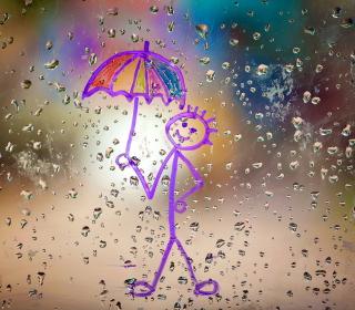 Happy Rain - Obrázkek zdarma pro 2048x2048