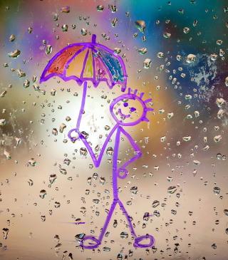 Happy Rain - Obrázkek zdarma pro iPhone 5C