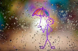 Happy Rain - Obrázkek zdarma pro HTC EVO 4G