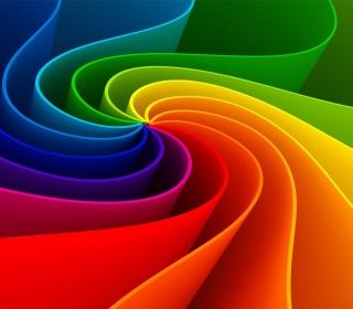 Swirling Rainbow - Obrázkek zdarma pro iPad mini 2
