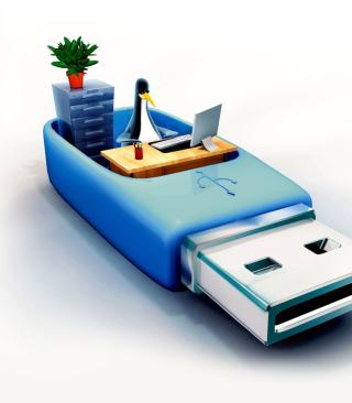 USB Flash Drive Stick - Obrázkek zdarma pro Nokia X1-00