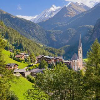 Heiligenblut am Grossglockner in Austria - Obrázkek zdarma pro iPad mini