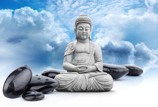 Buddha Statue Background for Android, iPhone and iPad