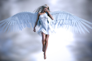 Angel 3D Background for Android, iPhone and iPad