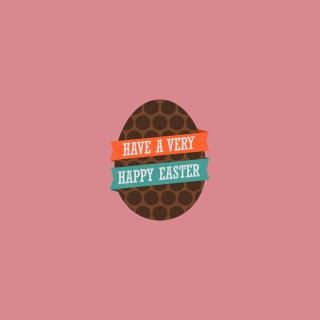 Very Happy Easter Egg - Obrázkek zdarma pro 128x128