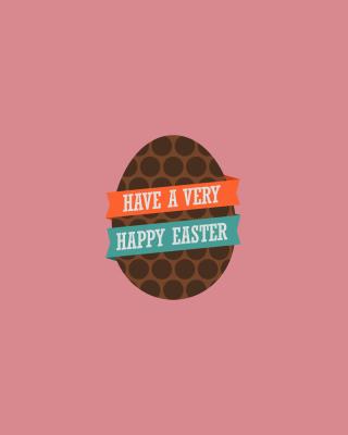 Very Happy Easter Egg - Obrázkek zdarma pro Nokia Asha 501