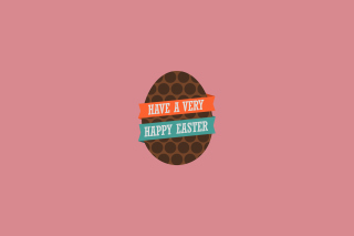 Very Happy Easter Egg Background for Android, iPhone and iPad