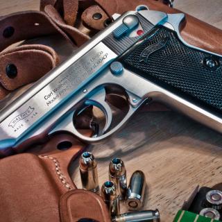 Walther Pistol 9mm - Obrázkek zdarma pro 320x320