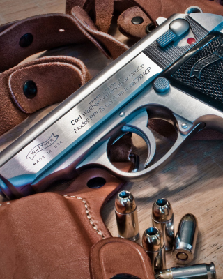 Walther Pistol 9mm - Obrázkek zdarma pro Nokia X6