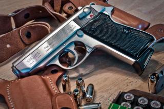 Walther Pistol 9mm - Obrázkek zdarma pro Sony Xperia Z