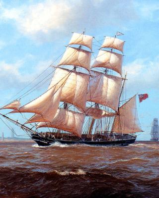 John Steven Dews Marine Painting - Obrázkek zdarma pro iPhone 4