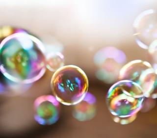 Colorful Bubbles - Obrázkek zdarma pro iPad Air