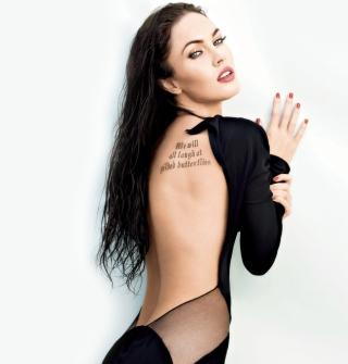 Megan Fox Tattoo - Obrázkek zdarma pro 128x128