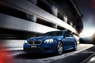 BMW M5 F10 Background for Android, iPhone and iPad