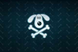 Funny Dog Sign Wallpaper for Android, iPhone and iPad