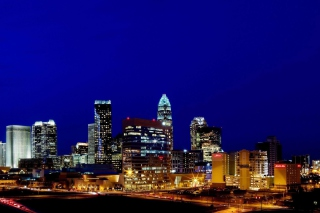 Charlotte Skyline in North Carolina Picture for Android, iPhone and iPad