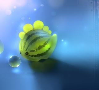 Watermelon Fish - Obrázkek zdarma pro 128x128