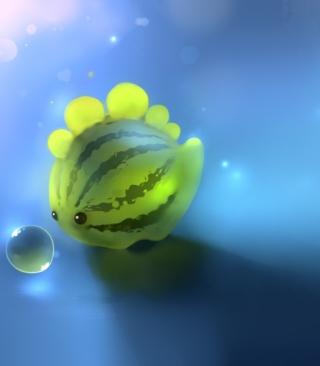 Watermelon Fish - Obrázkek zdarma pro 128x160