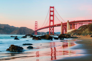 Golden Gate Bridge In San Francisco Picture for Android, iPhone and iPad
