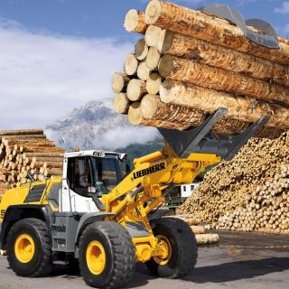 Liebherr Tractor - Obrázkek zdarma pro iPad Air