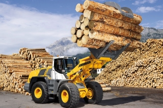 Liebherr Tractor Wallpaper for Android, iPhone and iPad