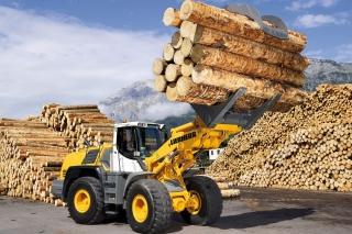 Liebherr Tractor - Obrázkek zdarma pro 1200x1024