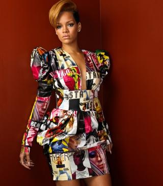 Rihanna - Obrázkek zdarma pro iPhone 5S