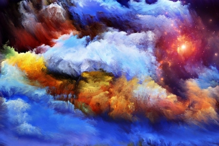 Free Smoke Paints Picture for Android, iPhone and iPad
