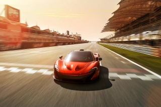 McLaren P1 Concept Background for Android, iPhone and iPad