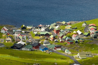 Funningsfjordur Faroe Islands Picture for Android, iPhone and iPad