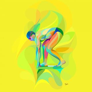 Rio 2016 Olympics Swimming Competitions - Obrázkek zdarma pro 2048x2048